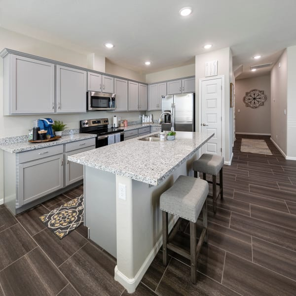 Luxury Kitchen at BB Living at Eastmark in Mesa, Arizona