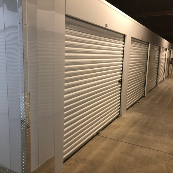 Indoor storage units at StorQuest Express - Self Service Storage in Sonora, California
