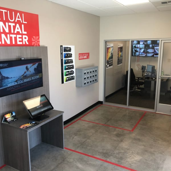 The rental center at StorQuest Express - Self Service Storage in Sonora, California