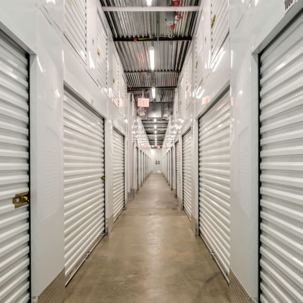 Indoor storage units at StorQuest Self Storage in Brooklyn, New York