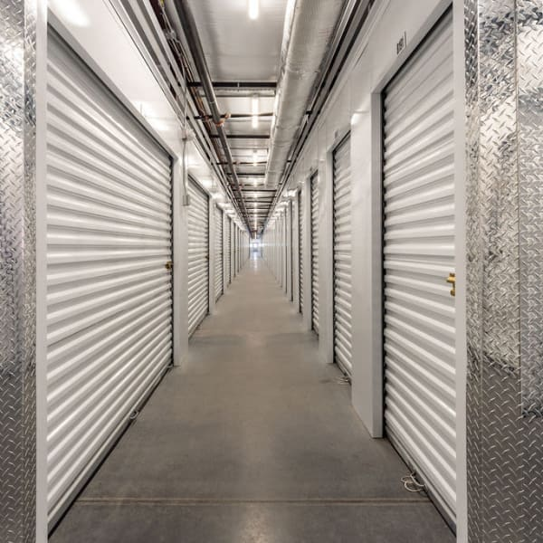 Climate controlled indoor storage units at StorQuest Express - Self Service Storage in Palm Coast, Florida