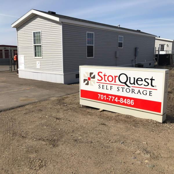 Main office at StorQuest Self Storage in Williston, North Dakota
