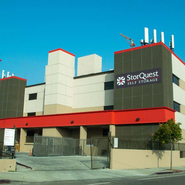Exterior at StorQuest Self Storage in Los Angeles, California