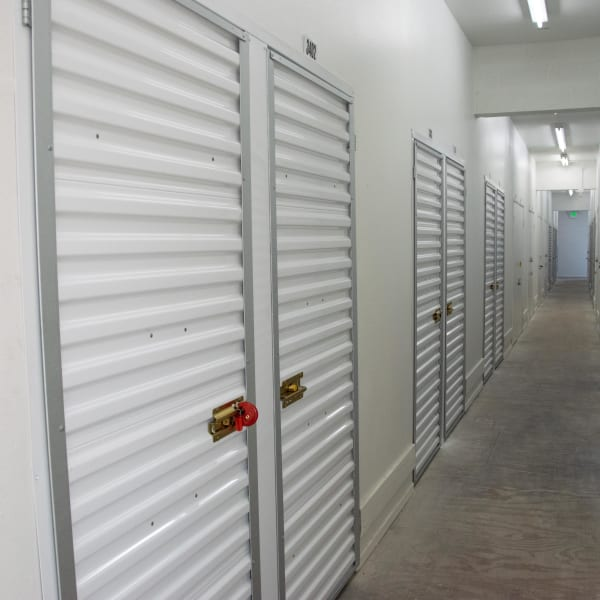 Interior units at at StorQuest Self Storage in Los Angeles, California