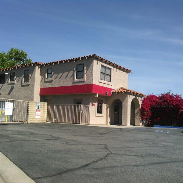 Exterior of StorQuest Self Storage in Camarillo, California