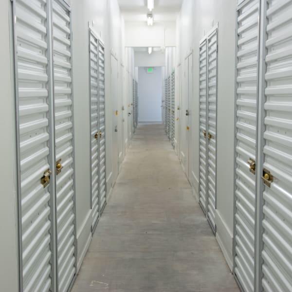 Indoor units at StorQuest Self Storage in Arlington, Virginia