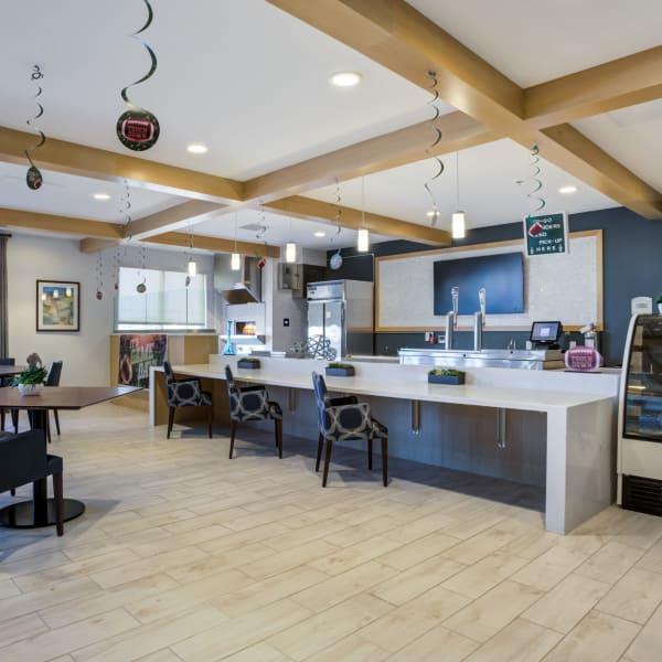 Bar area at Quail Park at Morrison Ranch in Gilbert, Arizona