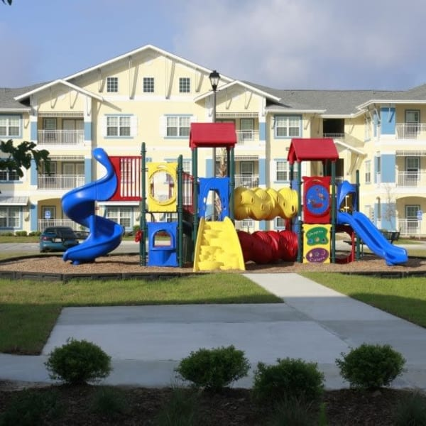 Playground at Lakeside Apartment Homes in Slidell, Louisiana