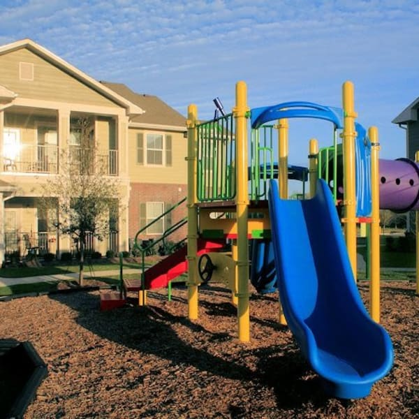 Playground at The Acadian Apartment Homes in Maurice, Louisiana