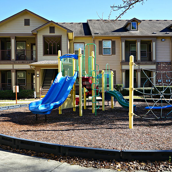 Playground at Wood Crest Apartment Homes in Chalmette, Louisiana
