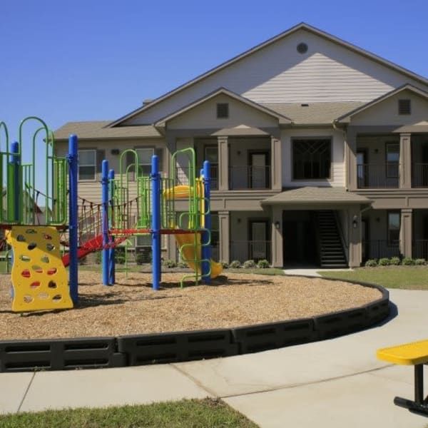 Playground at Riverview Apartment Homes in Chalmette, Louisiana