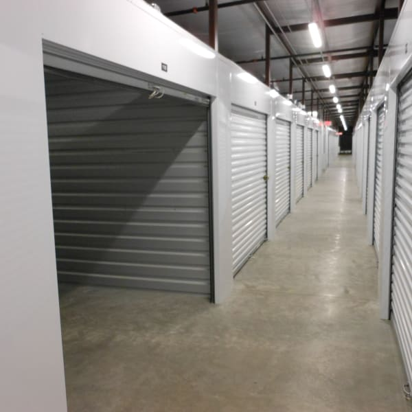 Climate controlled indoor storage units at StorQuest Self Storage in Venice, Florida