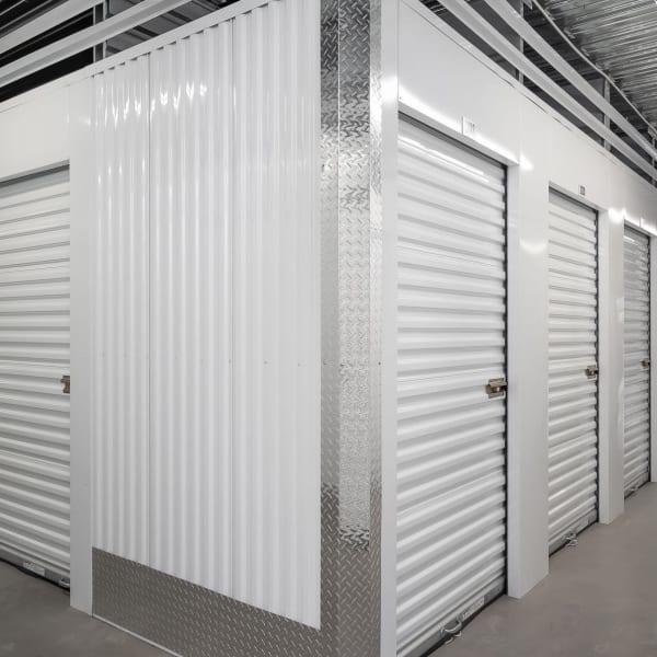 Indoor storage units at StorQuest Self Storage in Miami, Florida
