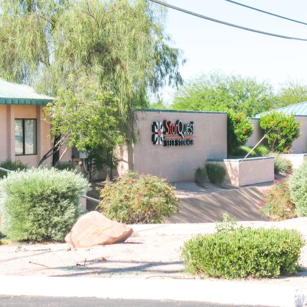 Exterior of StorQuest Self Storage in Apache Junction, Arizona