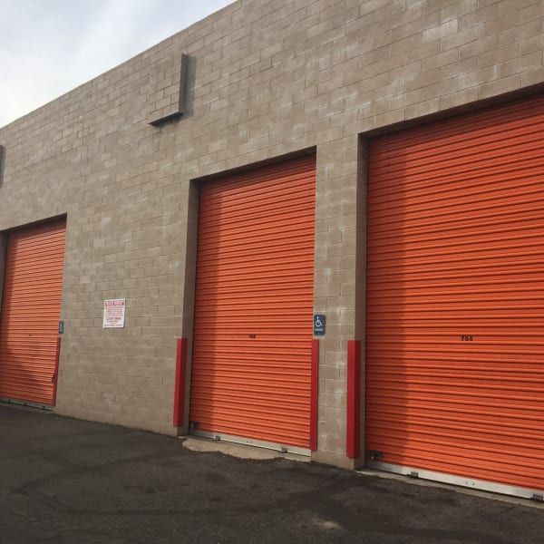 Large RV units at StorQuest Self Storage in Canoga Park, California