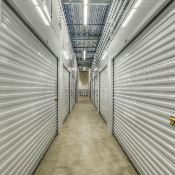 Interior units at StorQuest Self Storage in Denver, Colorado
