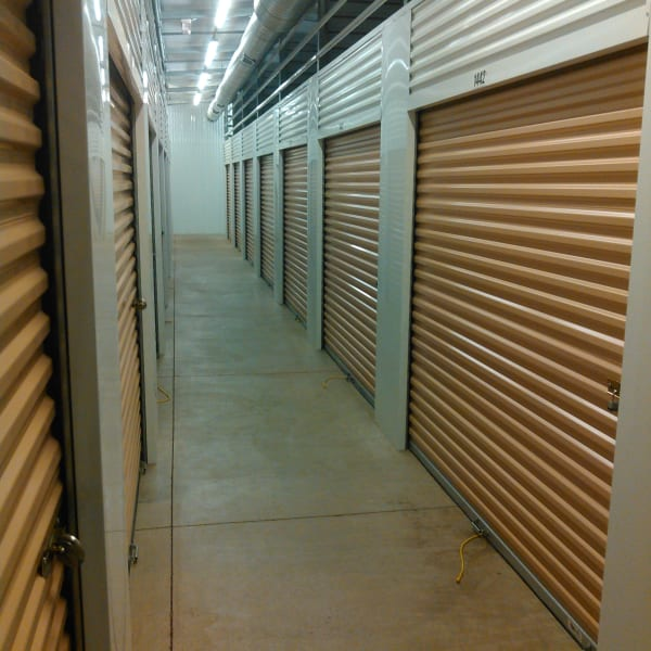 Climate-controlled indoor units at StorQuest Self Storage in Louisville, Colorado