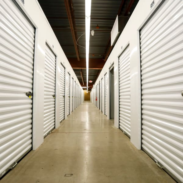 Climate-controlled indoor units at StorQuest Self Storage in Madison, Wisconsin