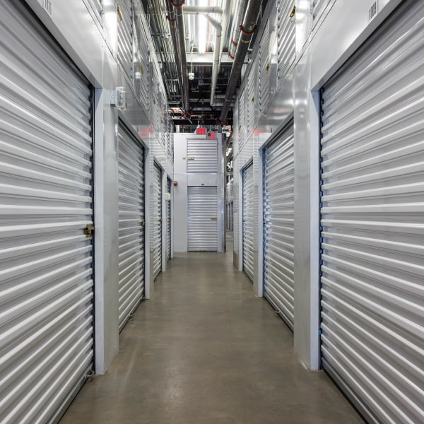 Climate-controlled indoor units at StorQuest Self Storage in Jersey City, New Jersey