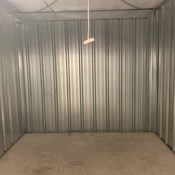 Interior of a storage unit at StorQuest Self Storage in Odessa, Florida