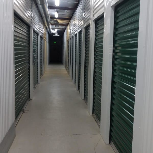 Climate-controlled indoor units at StorQuest Self Storage in Parker, Colorado