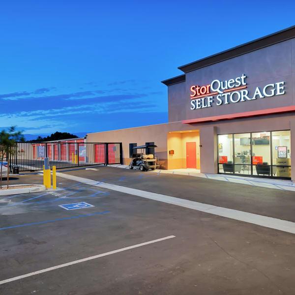 Exterior of StorQuest Self Storage in Reno, Nevada