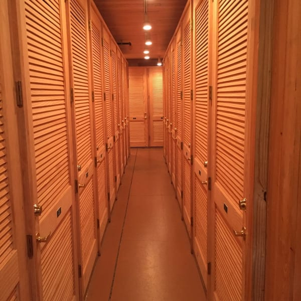 Climate controlled indoor storage units at StorQuest Self Storage in Sarasota, Florida