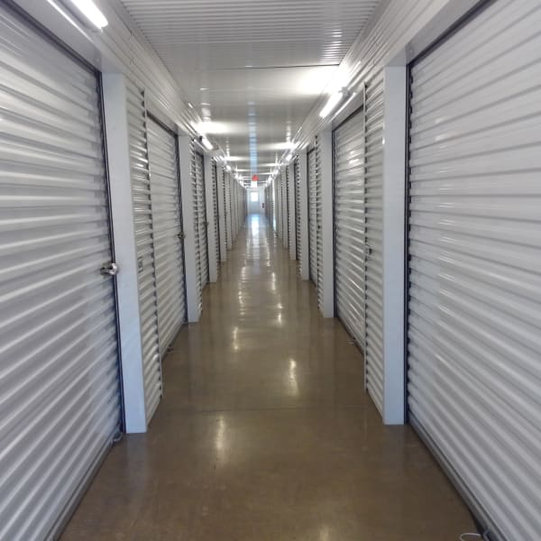 Climate controlled indoor units at StorQuest Self Storage in Spring, Texas