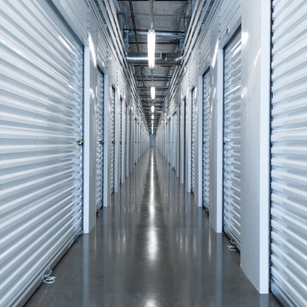 Climate controlled indoor storage units at StorQuest Self Storage in Seattle, Washington