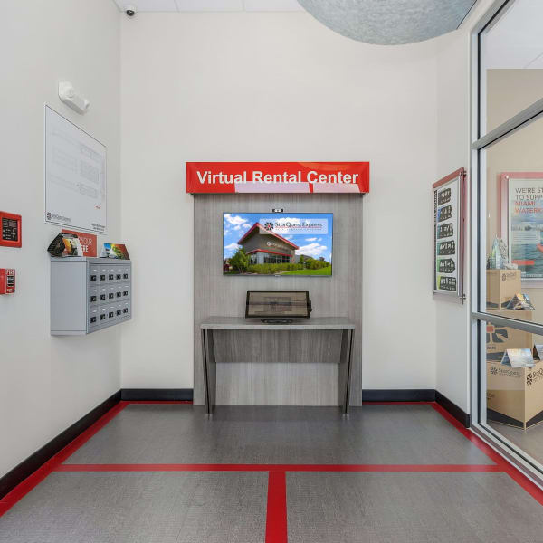 Virtual leasing at StorQuest Express Self Service Storage in Cape Coral, Florida