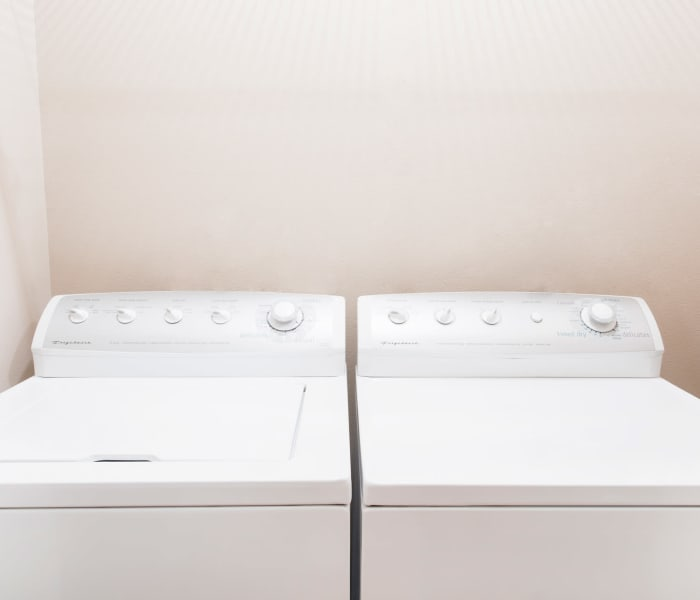 Full size washer and dryer apartments at The Reserve at Glenstone in Grimes, Iowa