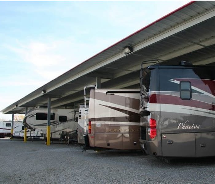 Rv storage at Advantage Boat and RV in Surprise, Arizona