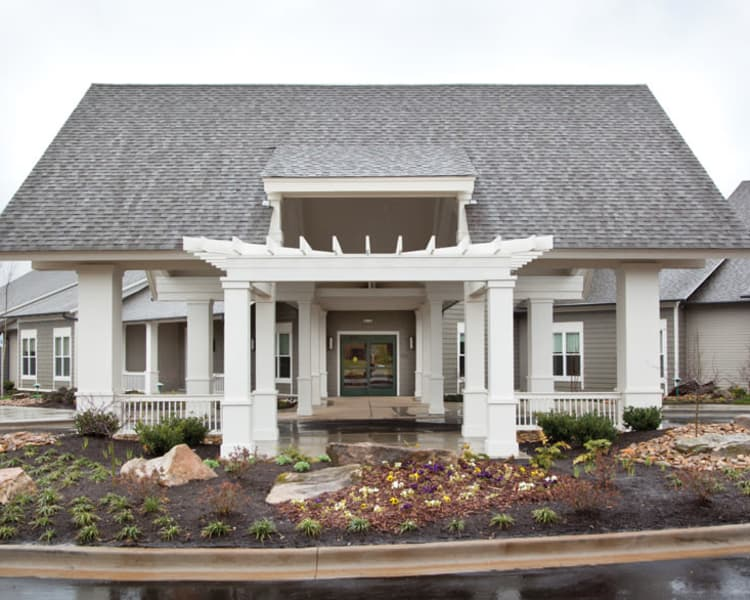 Front entrance to Avenir Memory Care at Knoxville in Knoxville, TN