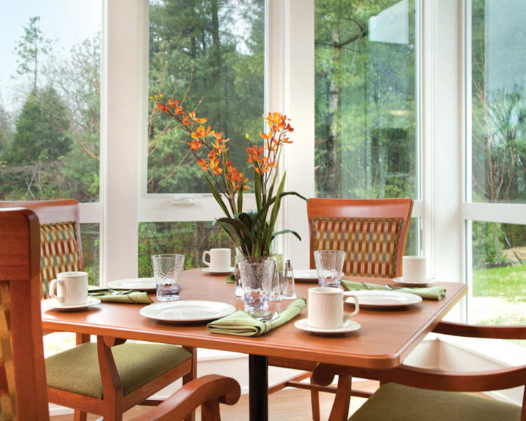 Dining area at Avenir Memory Care at Knoxville in Knoxville, TN
