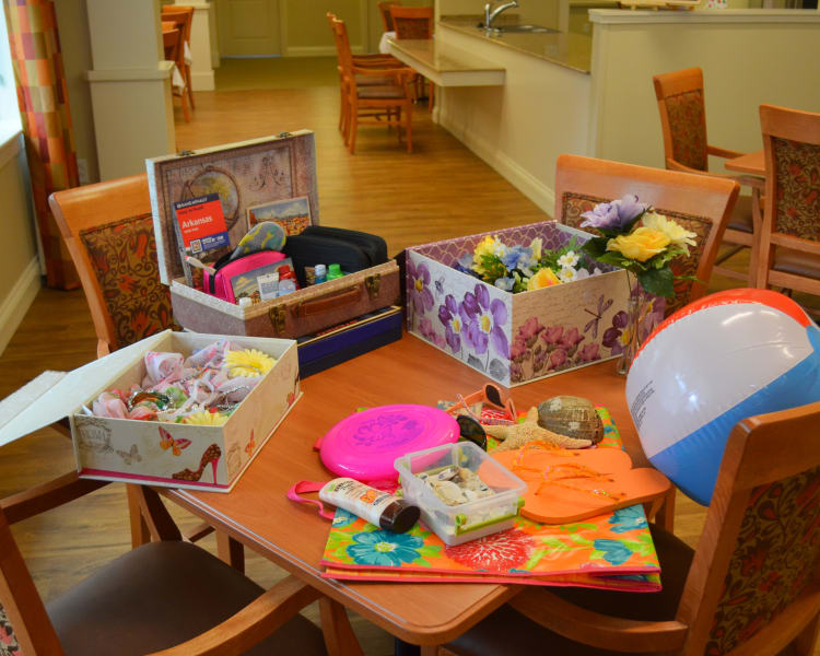 Crafts at Avenir Memory Care at Little Rock in Little Rock, AR