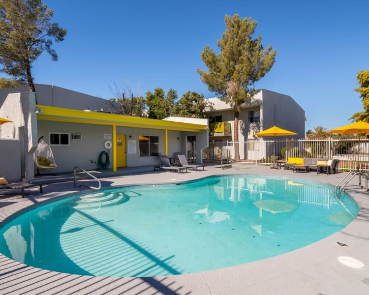 Our beautiful apartments in Tucson, Arizona showcase a pool
