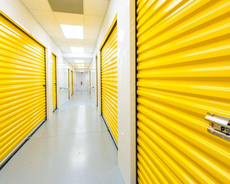 Indoor storage units at Convenient Self Storage in Little Rock, Arkansas