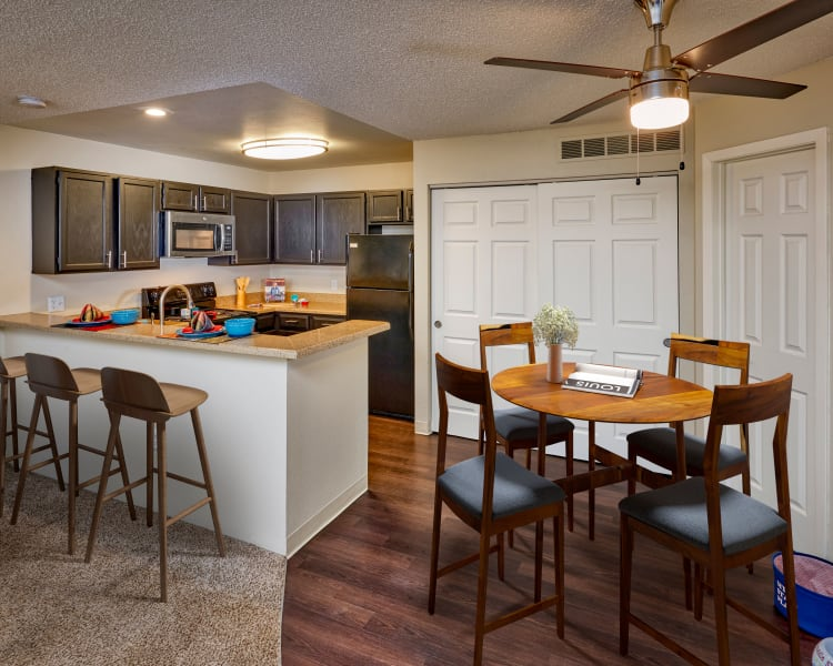 Click to see our floor plans at Bluesky Landing Apartments in Lakewood, Colorado
