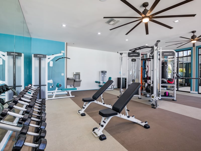 Enjoy Apartments with a Gym at SUR702 in Las Vegas, Nevada
