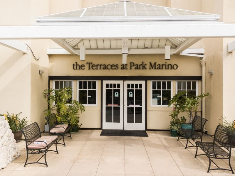 The Terraces at Park Marino entrance