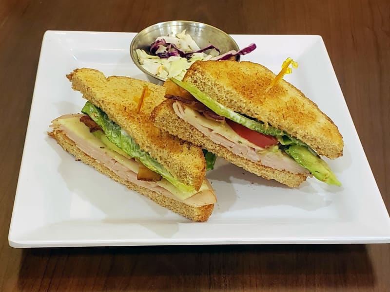 Turkey bacon avocado sandwich at Heron Pointe Senior Living