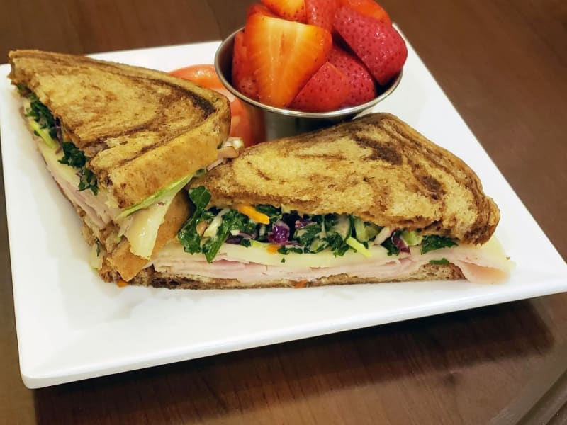 Turkey Reuben at Heron Pointe Senior Living