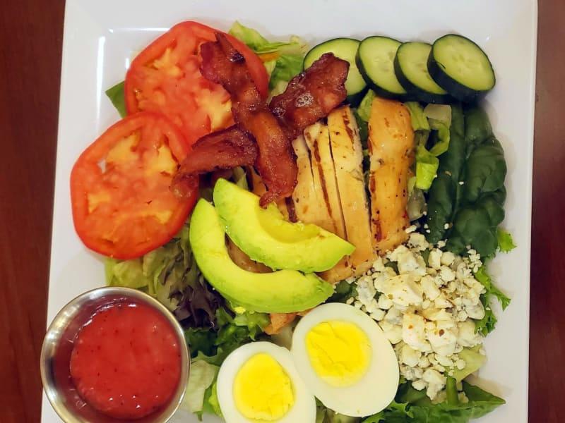 Cobb salad at Maple Ridge Senior Living