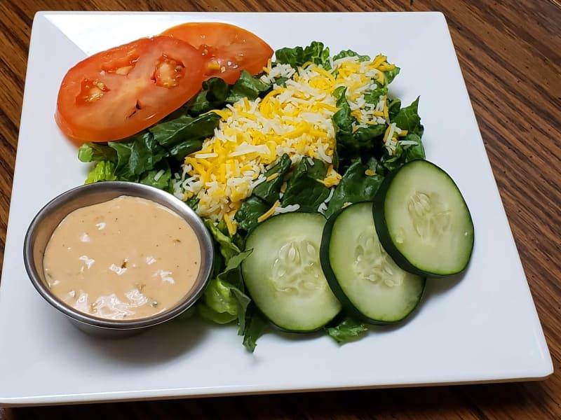 Garden salad at Maple Ridge Senior Living