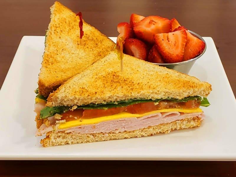 Turkey sandwich at Maple Ridge Senior Living