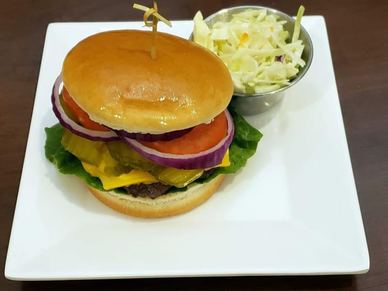 Cheeseburger at Lakeland Senior Living