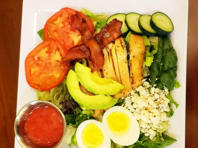 Cobb salad at Lakeland Senior Living