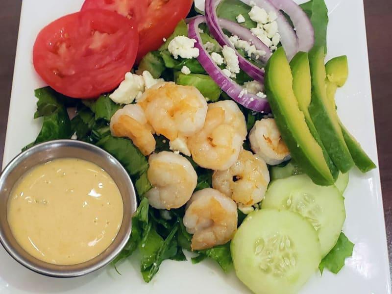 Shrimp salad at Lakeland Senior Living