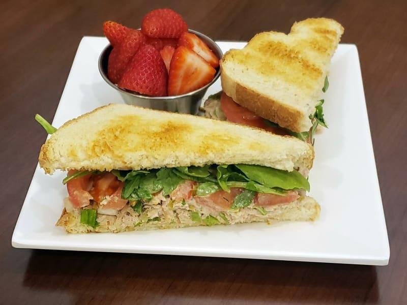 Tuna sandwich at Lakeland Senior Living