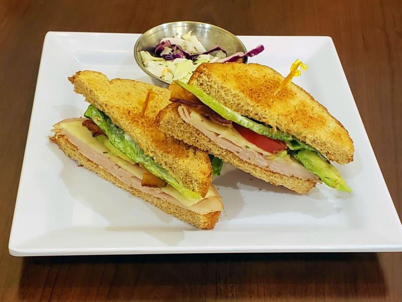 Turkey bacon avocado sandwich at Lakeland Senior Living